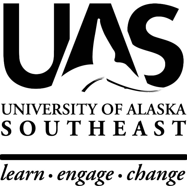 UA Southeast Sitka Logo BW